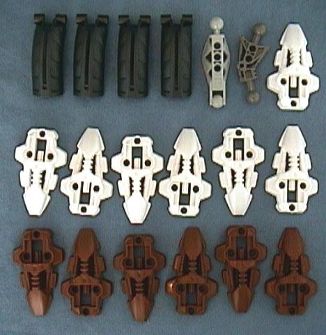 8715 Tub Parts - Bag 5
