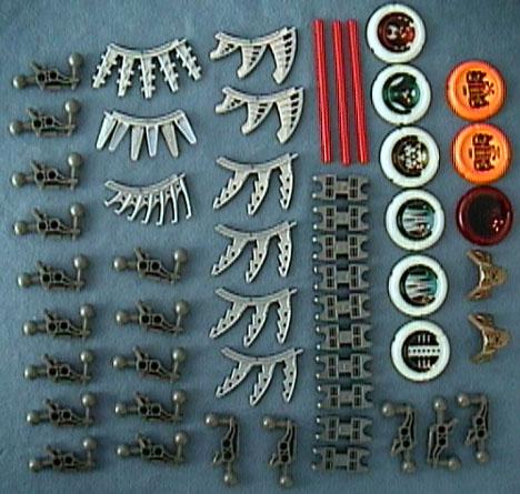 8715 Tub Parts - Bag 6