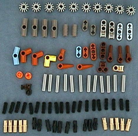 8715 Tub Parts - Bag 7