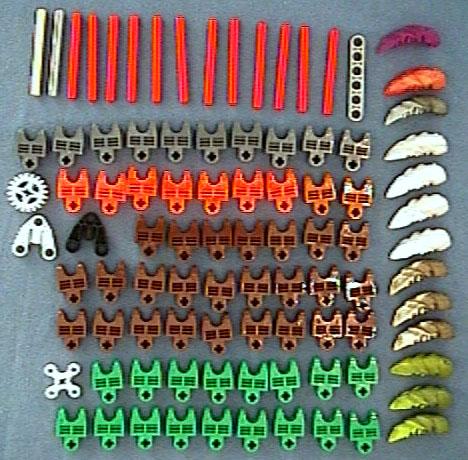 8715 Tub Parts - Bag 8