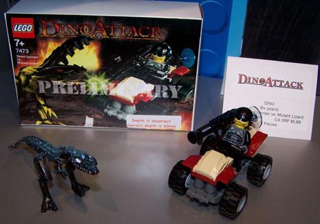 Dino Attack 7473