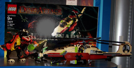 Dino Attack 7477