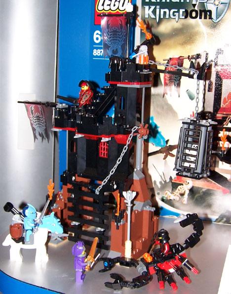8876 Scorpion Prison Cage