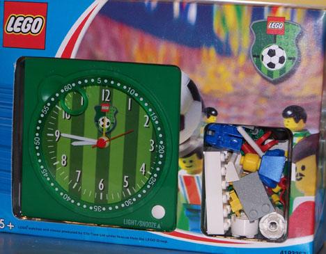 LEGO Soccer Alarm Clock