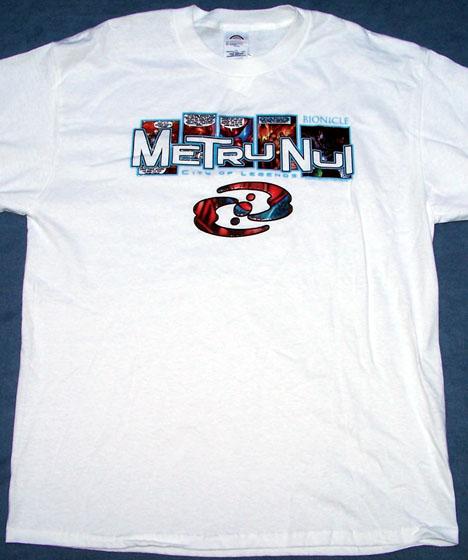 Metru Nui Comic T-Shirt