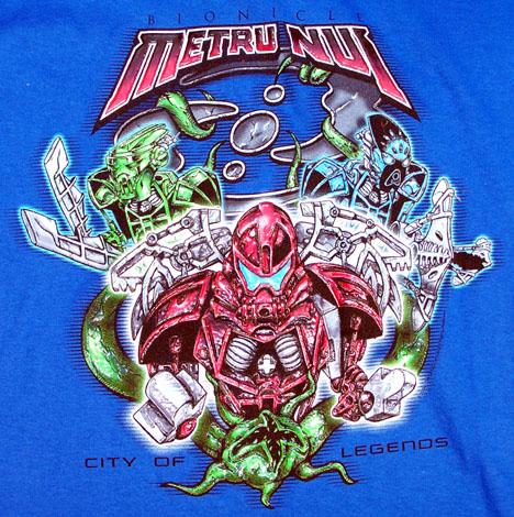 Metru Nui T-Shirt Detail