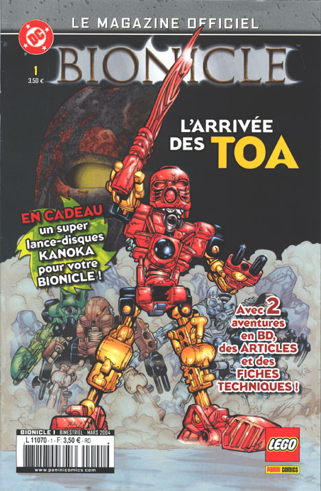 French BIONICLE Comic