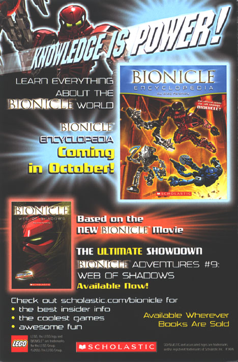 B3 DVD Insert - Back