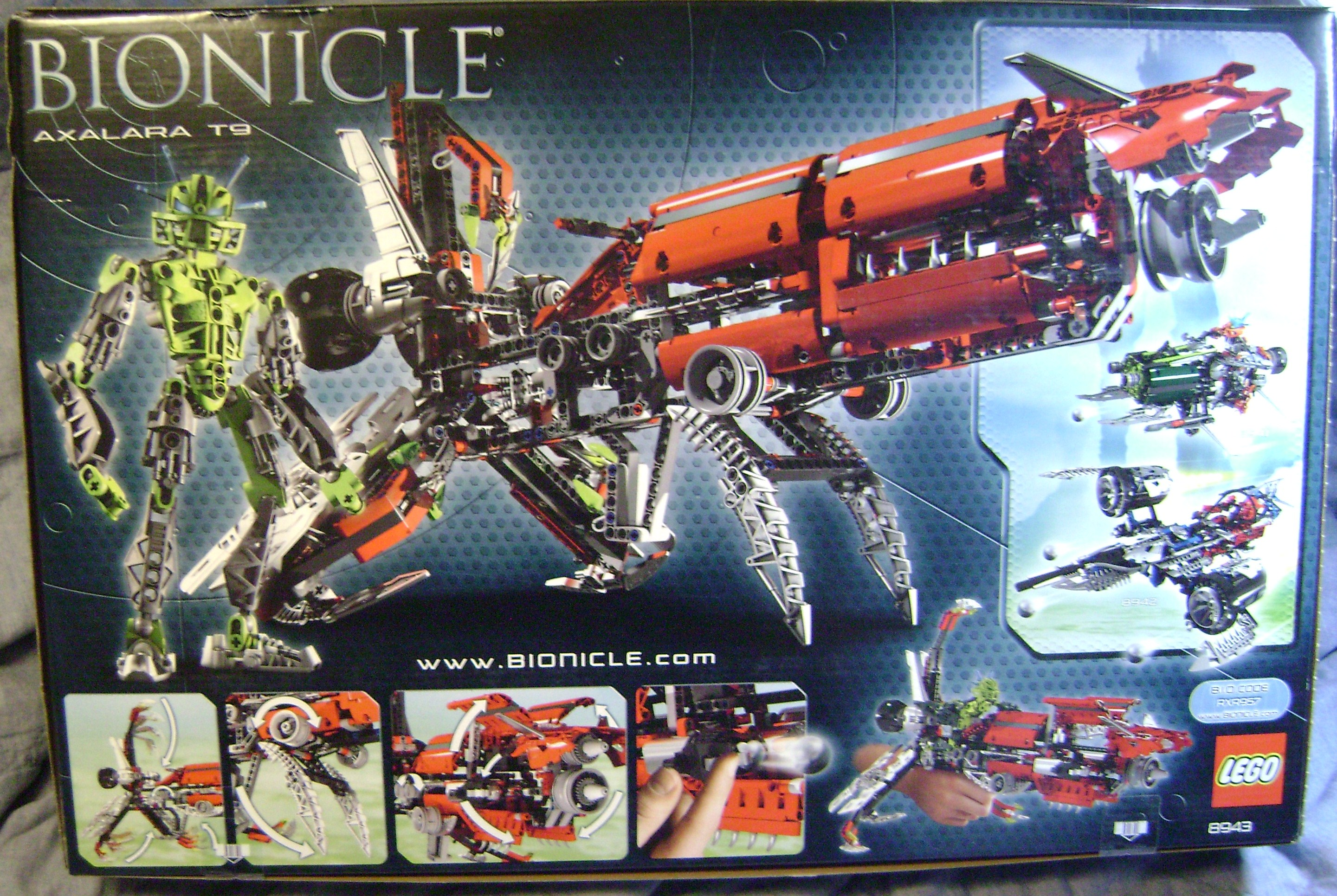 Biggest bionicle set / Cuisinart soda maker