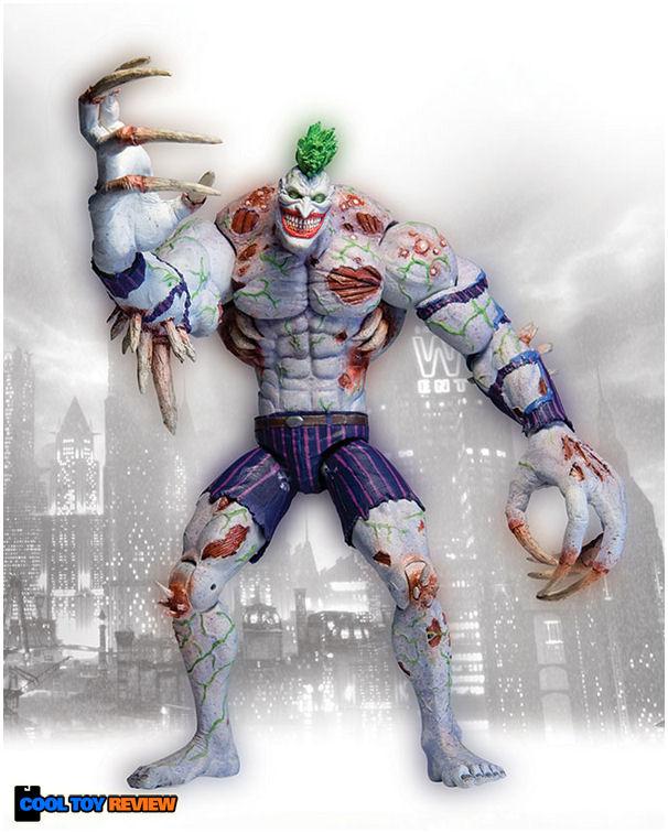 [DC Collectibles] Arkham Asylum Deluxe Action Figure: Titan Joker 0025353