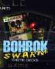 Back of TRU Exclusive BOHROK TRADING CARD PACK