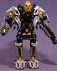 8557 EXO-TOA, ONUA Tucked Inside With Feet Unable To Touch Footpads