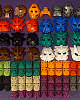 Complete 2002 Set Of MASKS