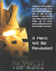 Back Cover of DC Comic BIONICLE� #12: All Our Powers Against Us