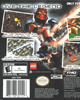 Back cover from the <I>BIONICLE�</I> game for Game Boy Advance