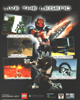 Back of <I>BIONICLE�</I> PC CD-ROM Box