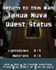 TAKUA NUVA typo from <I>BIONICLE</I> for PC CD-ROM