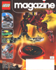 Front cover of March 2004 <I>LEGO Magazine</I>