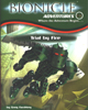 Front cover of <I>BIONICLE Adventures #2: Trial By Fire</I>