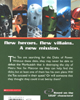 Back cover of <I>BIONICLE� Adventures #2: Trial By Fire</I>