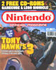 Bag enclosing <I>Nintendo&reg; Official Magazine</I> and CD-ROM