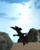 Bird from demo version of LoMN intro movie