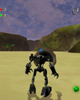 Opening screen from <I>BIONICLE� Legend of Mata Nui</I>
