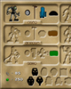 Inventory screen from <I>BIONICLE� Legend of Mata Nui</I>