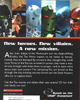Back of <I>BIONICLE&reg; Adventures #4: Legends of Metru Nui</I>