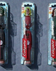 Set of three Colgate TOA METRU BIONICLE&reg; Toothbrushes