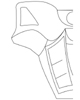 Left side of TOA NUVA armor template