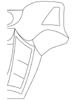 Right side of TOA NUVA armor template