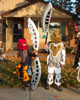 Four TOA Costumes
