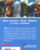 Back cover of <I>BIONICLE� Adventures #6: Maze of Shadows</I>