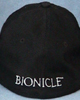 Back of baseball cap with