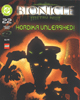 Front cover of DC Comic <I>BIONICLE #22  Hordika Unleashed!</I>