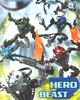 Back cover of DC Comic <I>BIONICLE #22  Hordika Unleashed!</I>