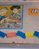 Fifty-year old box originating the LEGO System