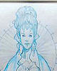 Queen Amidala's End Parade Dress Sketch
