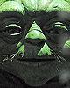 Master Yoda's Face Detail