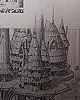 Ewok Village Concept by Ralph McQuarrie