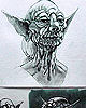 Yoda Concept Drawings By Ralph McQuarrie