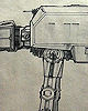 Joe Johnston Scale of Imperial Walker (AT-AT)