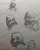 Assorted Concepts By Ralph McQuarrie (Imperial Stromtrooper, Princess Leia and Rebel Troopers)